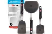 best DI ORO Silicone Flexible spatula Set