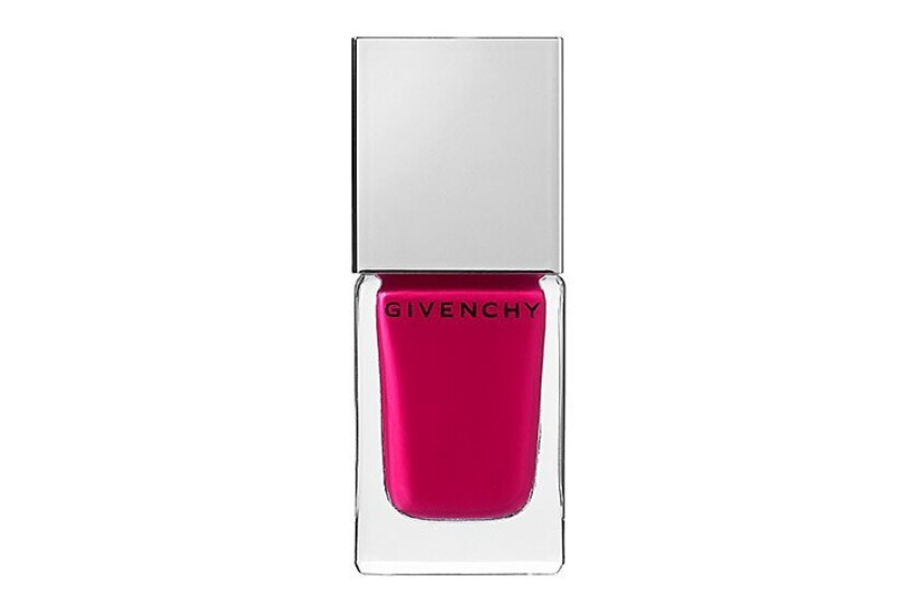 best Givenchy Le Vernis Intense Color Nail Lacquer in Fuchsia Irresistible