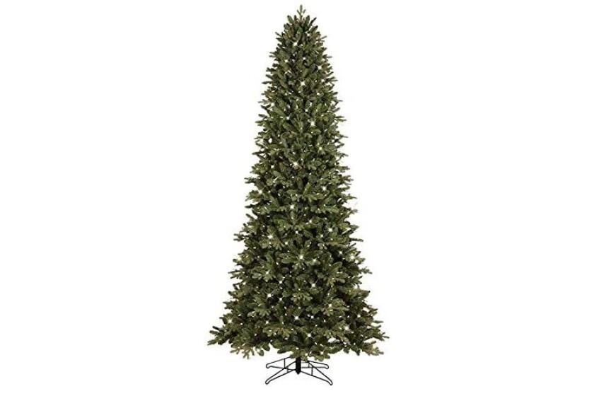 Bethlehem Lighting 9 foot Pre-Lit Slim Palisade Artificial Christmas Tree.jpg