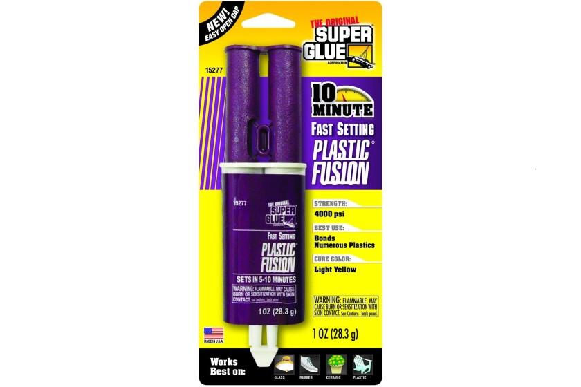 Super Glue Plastic Fusion Epoxy Adhesive #15277