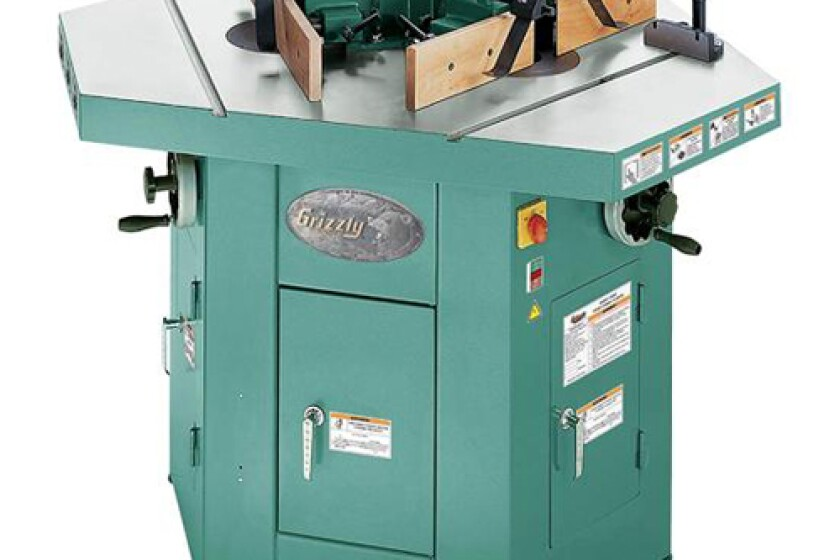 Grizzly G9933 Three Spindle Shaper