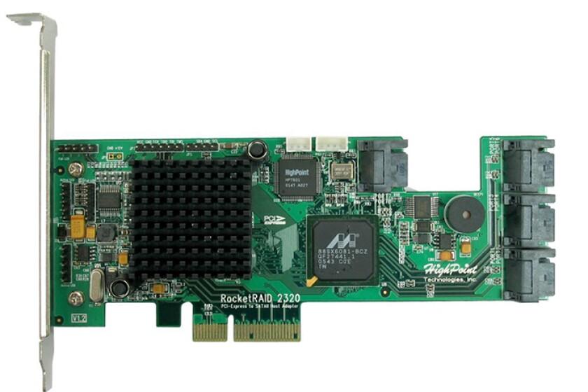 HighPoint RocketRAID 2320 8-Port Controller Card
