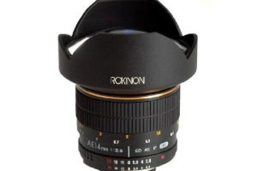 Rokinon 14mm F/2.8 Ultra Wide Angle Lens for Nikon