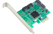 SYBA SI-PEX40057 4-Port SATA III Marvell Chipset Raid Controller
