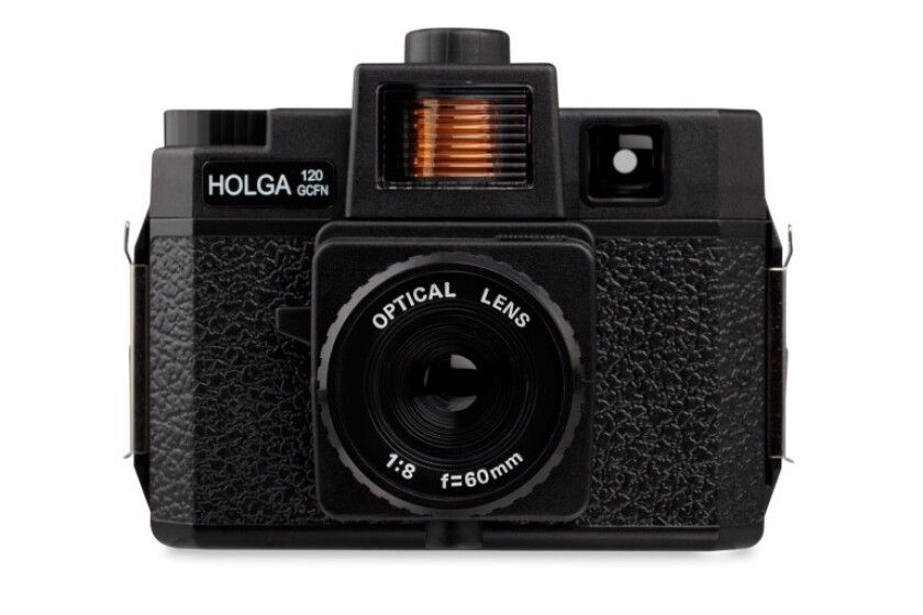 Holga 120GN With Color Flash