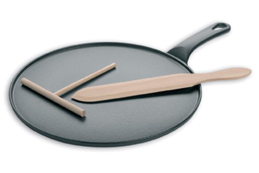 Matfer Bourgeat Black Cast Iron Crepe Pan