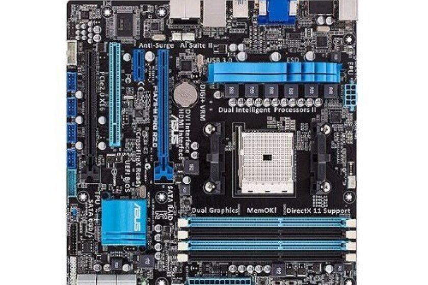 ASUS F1A75-M PRO USB 3.0 Micro ATX AMD Motherboard