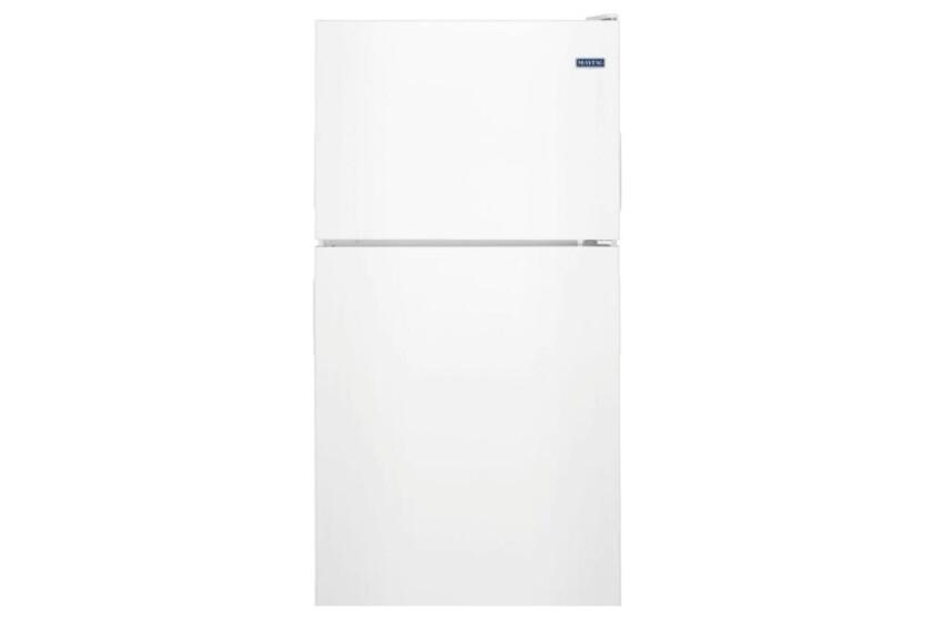 Maytag 18.1 Cu. Ft. Stainless Steel Top-Freezer Refrigerator - MRT318FZDM
