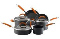 Rachael Ray Hard Anodized Nonstick 10-Piece Cookware Set