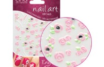 Cinapro Nail Creation 3D Nail Decals in English Rose