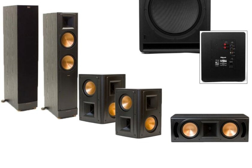 Klipsch RF-82II 5.1 Bundle with Klipsch SW-112