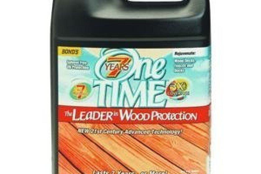One Time Wood Sealer