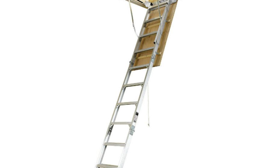 Keller Aluminum Attic Ladder