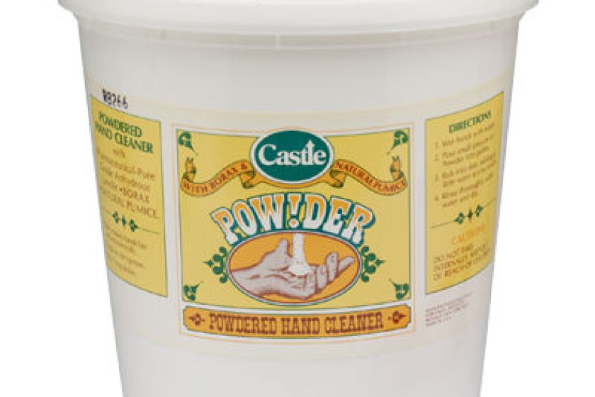 Castle Powdered Hand Cleaner