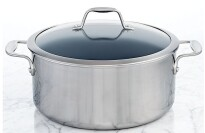 J.A. Henckels Zwilling Spirit Thermolon Ceramic Nonstick Covered Dutch Oven, 8 Qt.