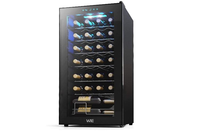 Best 28 Bottle Home Freestanding Wine Cellar
