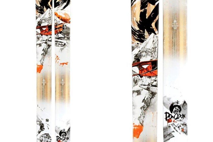 K2 Pon2oon滑雪
