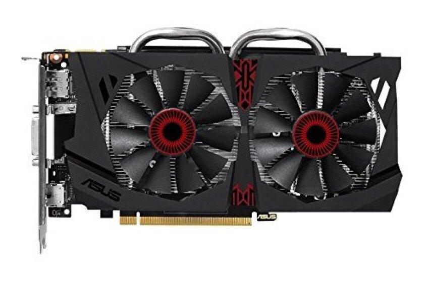 Asus GeForce 2GB 128-Bit GDDR5 Graphics Cards (STRIX-GTX950-DC2OC-2GD5-GAMING)