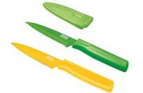 best Kuhn Rikon 4-Inch Nonstick Colori Paring Knife, Set of 2