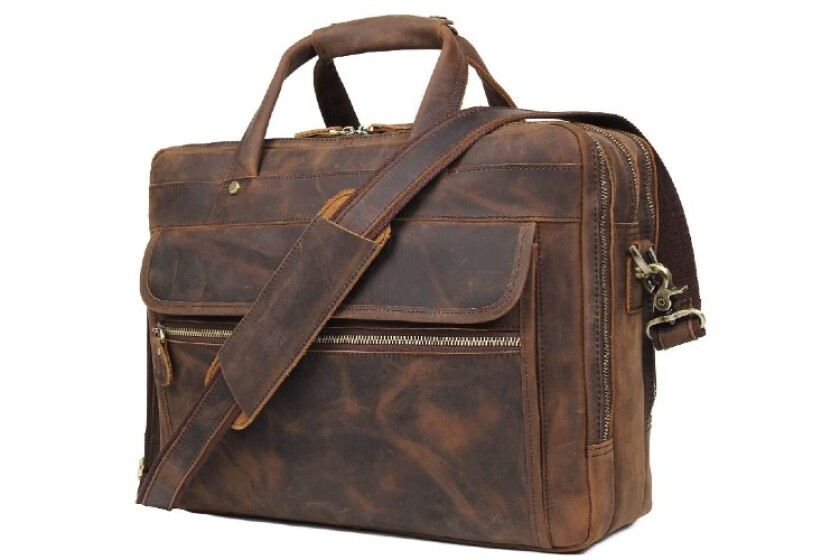 best leather briefcase