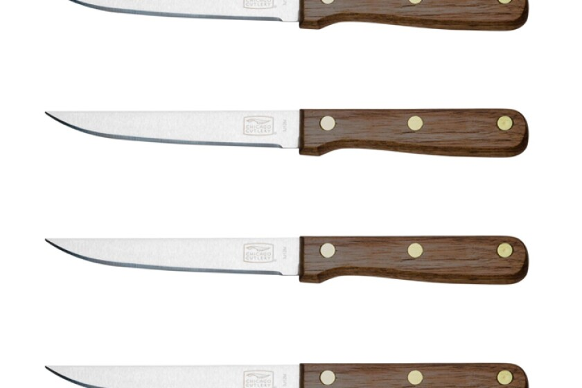 Chicago Cutlery Walnut Tradition Steak Knife Set