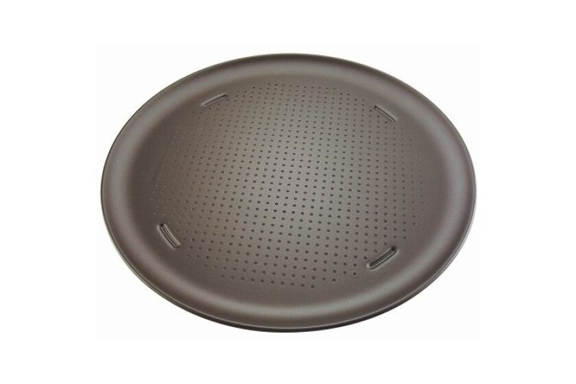 best T-Fal AirBake Ultra Insulated Nonstick Perforated Pizza Pan