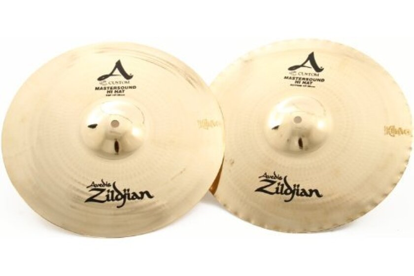 "Zildjian 14"" A Custom Mastersound Hi-Hat Cymbal Pair"