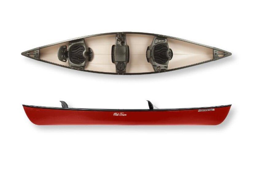 Old Town Saranac Canoe