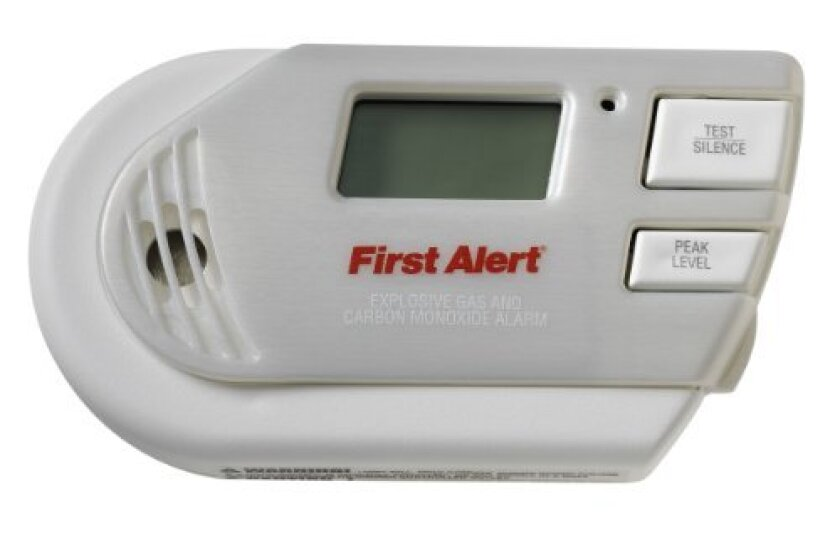 First Alert GCO1CN Combination Explosive Gas and Carbon Monoxide Alarm