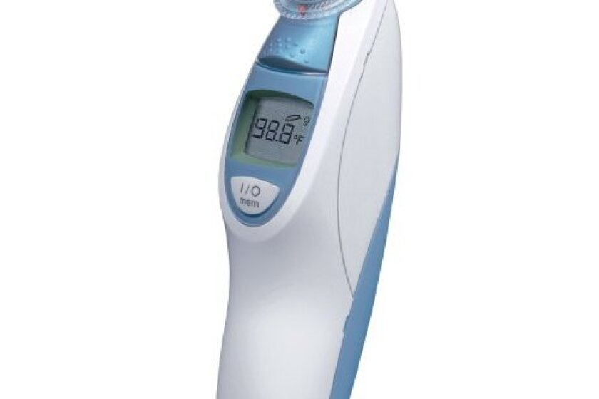 Braun Thermoscan Ear Thermometer with ExacTemp Technology