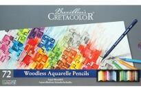 best Cretacolor 72 Aqua Monolith Metal Tin Set