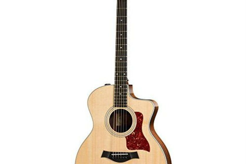 Taylor 214ce-DLX Deluxe Grand Auditorium Acoustic-Electric Guitar