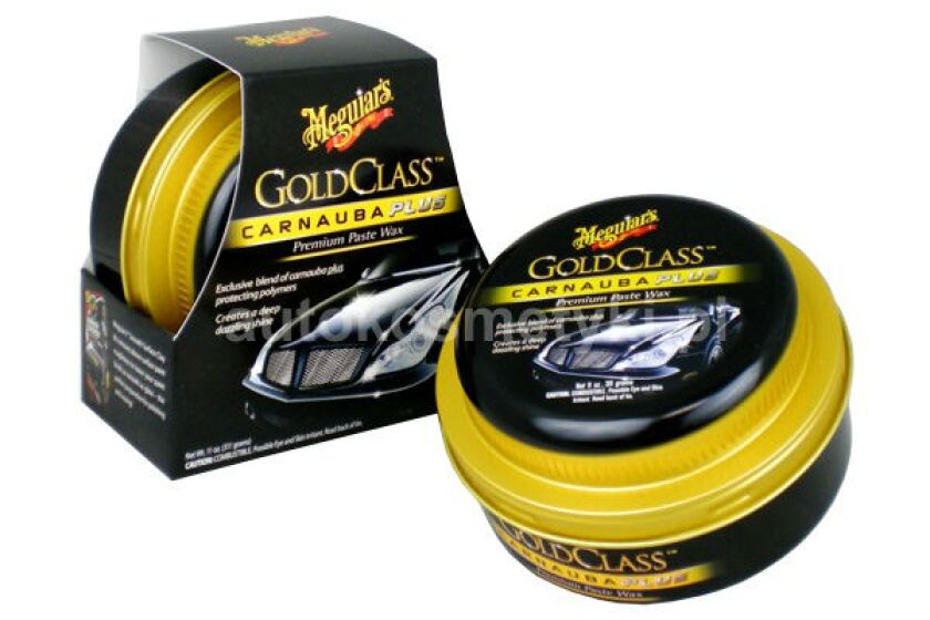 Meguiar's Gold Class Carnauba Plus Paste Wax - G7014J