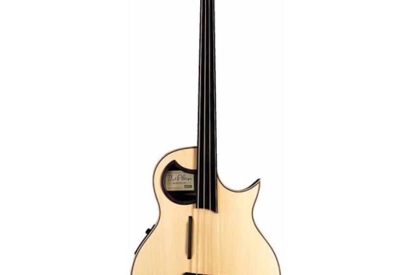 Warwick Rockbass Alien Fretless Acoustic Electric Bass Guitar