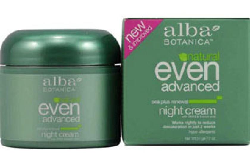 Alba Botanica Even Advanced Sea Plus Renewal Night Cream