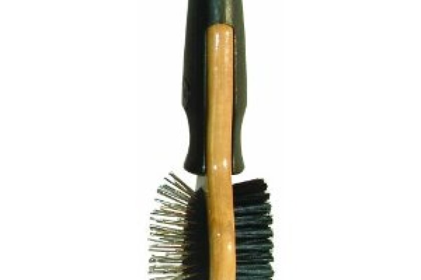 JW Pet Company GripSoft Wood Cat Double Sided Brush