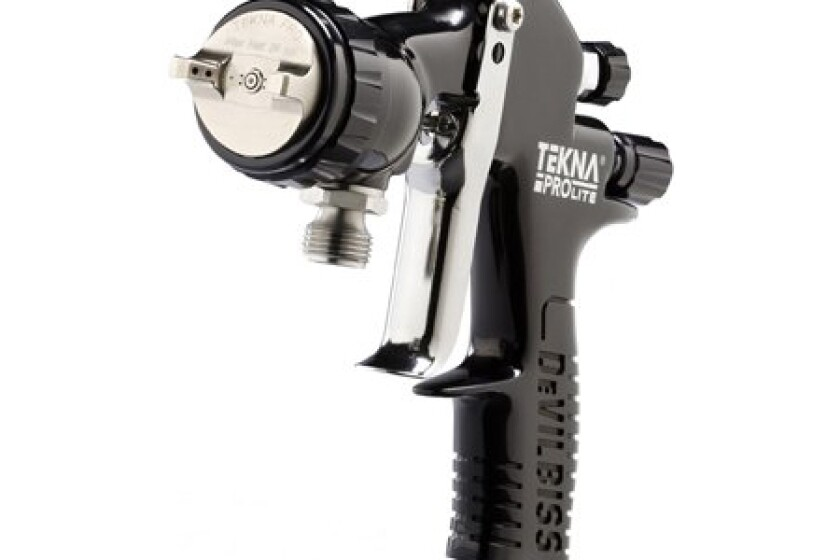 DeVilbiss Tekna ProLite Pressure Feed Spray Gun