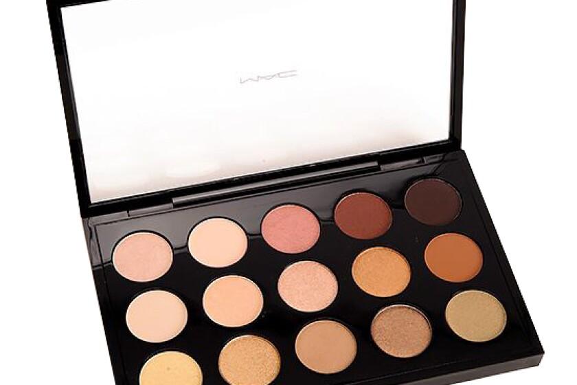 MAC Cosmetics Eye Shadow X15: Warm Neutral Palette