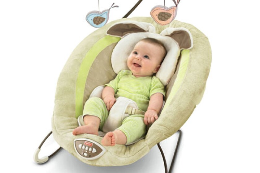 Fisher-Price My Little Snugabunny Bouncer