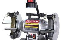 Craftsman 21162 Professional  Variable Speed 8'' Bench Grinder