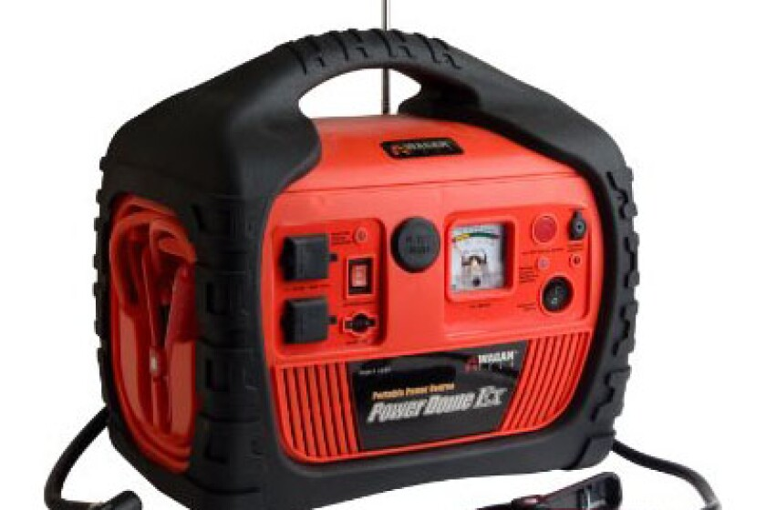 Wagan 400-Watt Power Dome EX Jumpstarter with Built-In Air Compressor