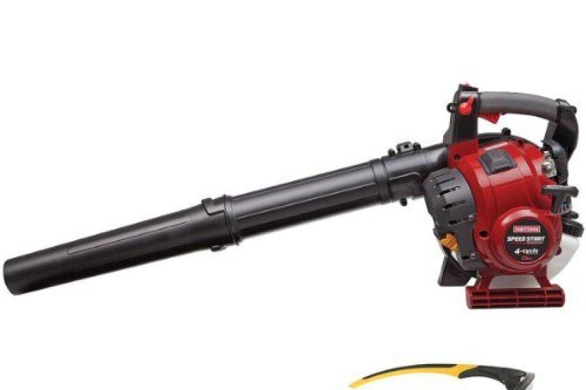 Craftsman Speedstart 25cc Handheld Blower