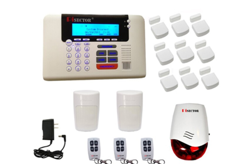 PiSector Wireless Home Security Alarm System Kit with Auto Dial PS03-M20