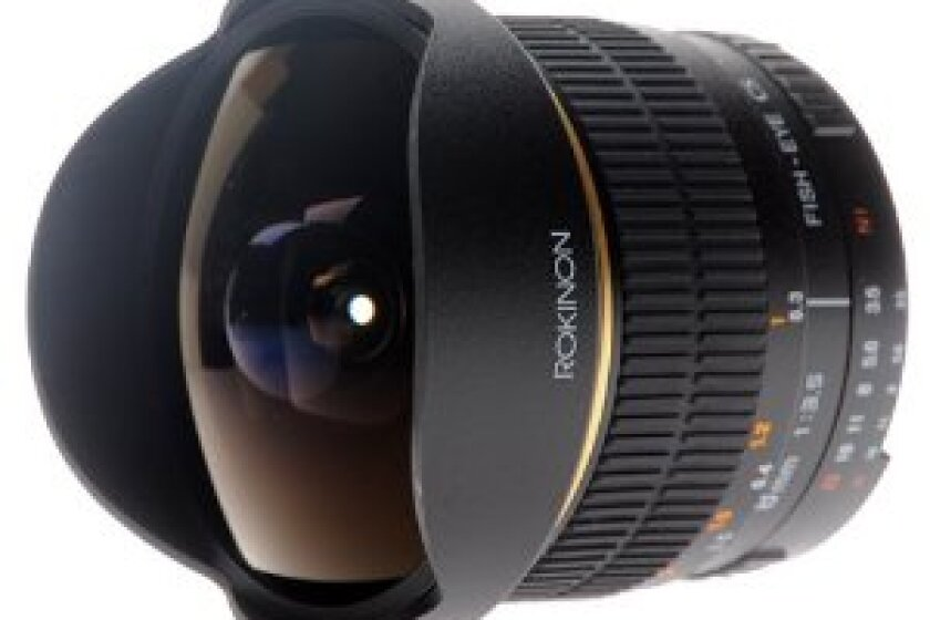 Rokinon FE8M-N 8mm F3.5 Fisheye Lens for Nikon