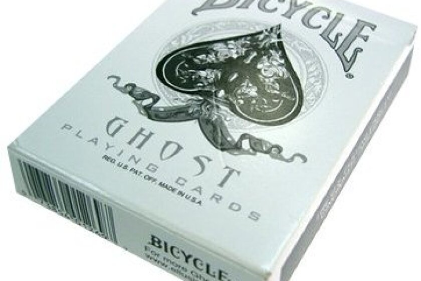 Bicycle Ghost Playing Cards Deck by Ellusionist