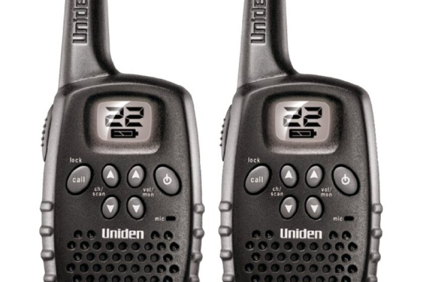 Uniden 16-Mile 22 Channel Battery FRS/GMRS Two-Way Radio