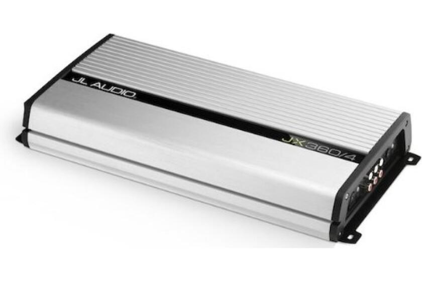 JX360/4 - JL Audio 4-Channel 360W Class A/B Amplifier