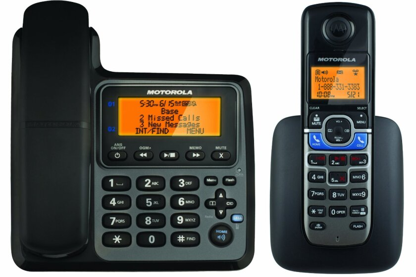 Motorola L702CBT DECT 6.0 with Bluetooth