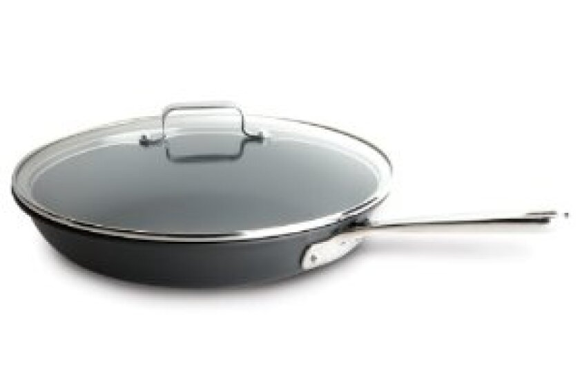 Emeril by All-Clad E9209964 Hard Anodized Nonstick 12-Inch Fry Pan