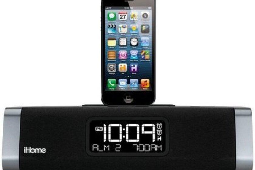 iHome iDL45 Desktop Clock Radio